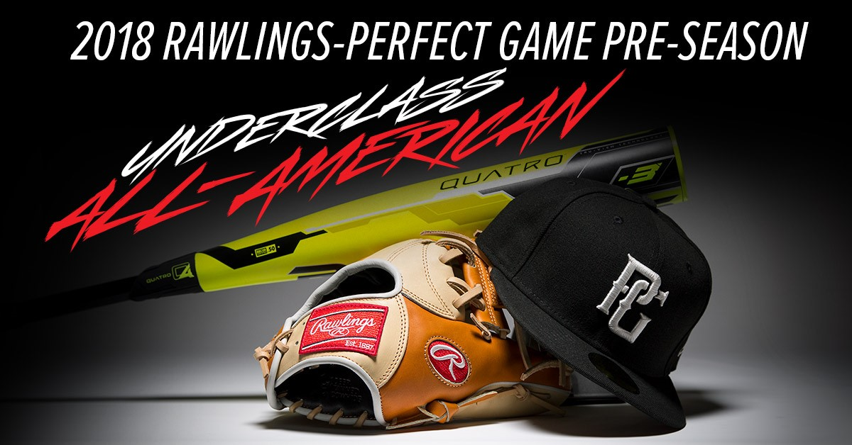 2019 Preseason Underclass All Americans Teams Perfekt spill USA  Perfect Game USA